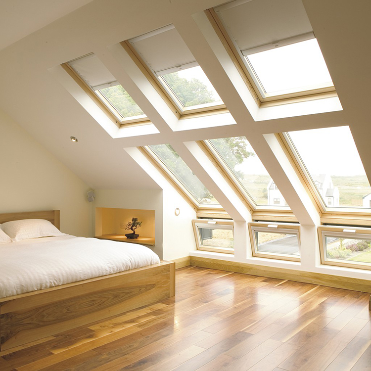 Reduce your energy bills with Velux roof windows